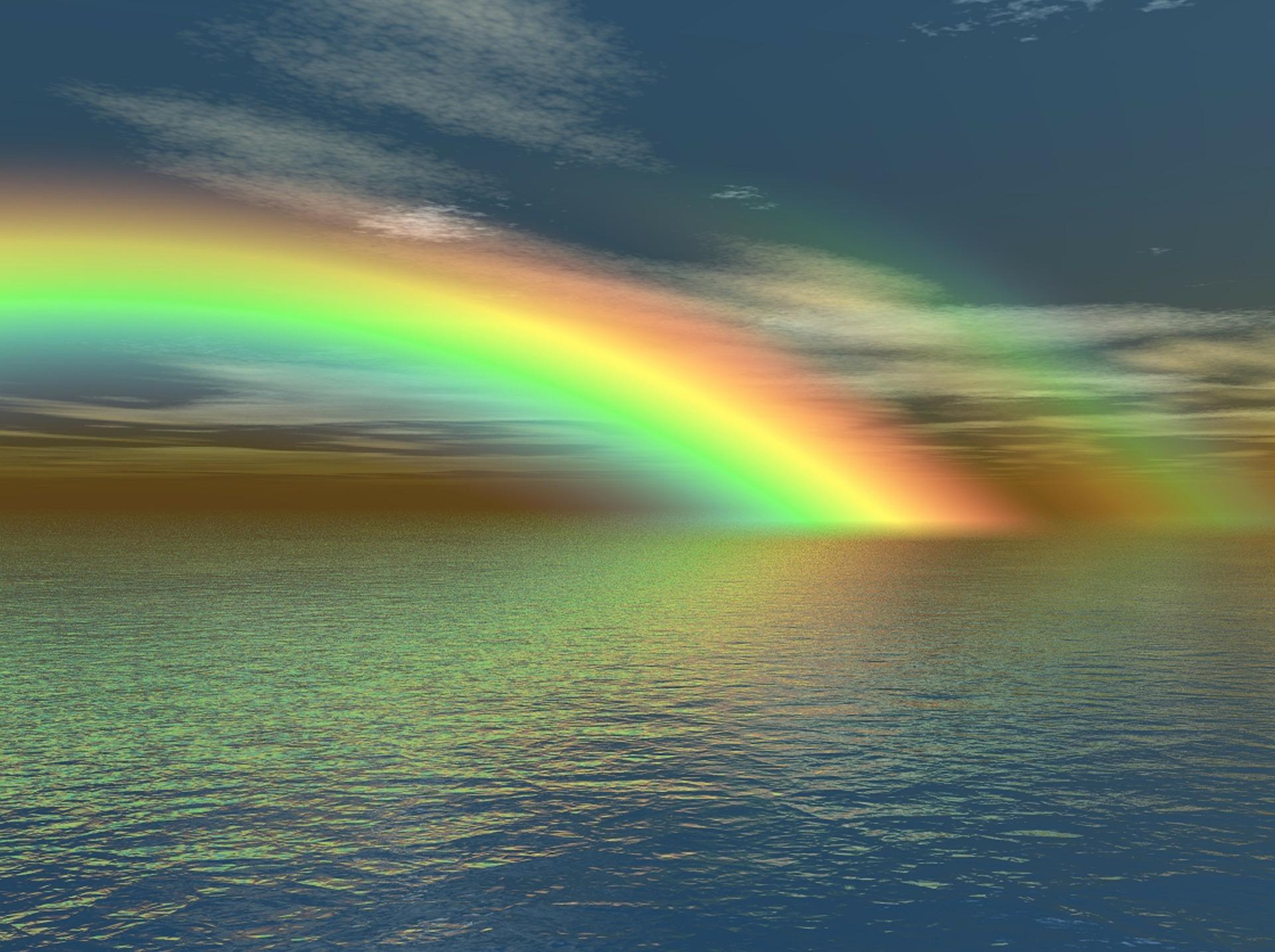 【虹のスピリチュアル】幸運を運ぶサイン!場所と形状で変わる解釈と願いが叶うおまじない